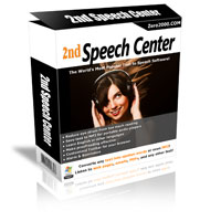 2nd Speech Center box